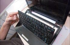 Замена клавиатуры в ноутбуке в Минске
