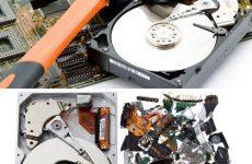 Как восстановить файлы, если  разбился жесткий диск?